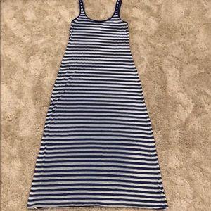 Tommy Bahama Striped Maxi Tank Dress